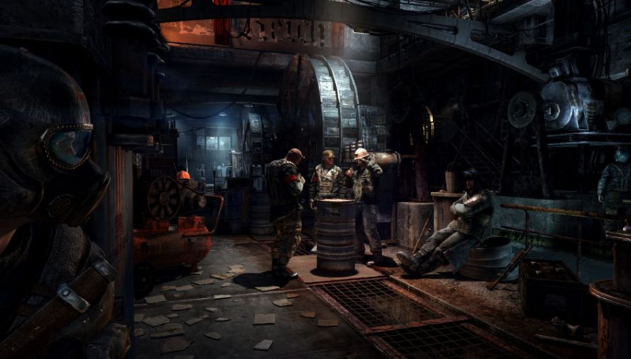 Metro Last Light Review Tunnel Vision Technologyguide Com